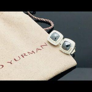 David Yurman Petite Albion Hematite & Diamonds